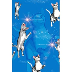 Funny, Cute Playing Cats With Stras 5.5  x 8.5  Notebooks