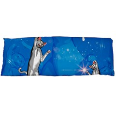 Funny, Cute Playing Cats With Stras Body Pillow Cases Dakimakura (two Sides)