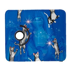 Funny, Cute Playing Cats With Stras Samsung Galaxy S  III Flip 360 Case