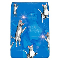 Funny, Cute Playing Cats With Stras Flap Covers (L)