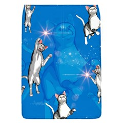 Funny, Cute Playing Cats With Stras Flap Covers (S)