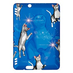 Funny, Cute Playing Cats With Stras Kindle Fire HDX Hardshell Case