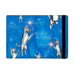 Funny, Cute Playing Cats With Stras iPad Mini 2 Flip Cases