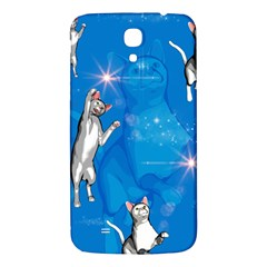 Funny, Cute Playing Cats With Stras Samsung Galaxy Mega I9200 Hardshell Back Case