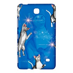 Funny, Cute Playing Cats With Stras Samsung Galaxy Tab 4 (7 ) Hardshell Case