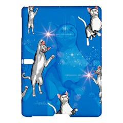 Funny, Cute Playing Cats With Stras Samsung Galaxy Tab S (10.5 ) Hardshell Case