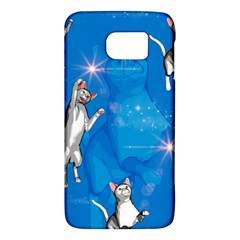 Funny, Cute Playing Cats With Stras Galaxy S6
