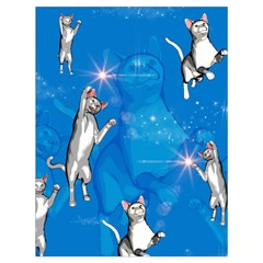 Funny, Cute Playing Cats With Stras Drawstring Bag (large)