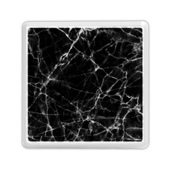 Black marble Stone pattern Memory Card Reader (Square)