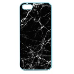 Black marble Stone pattern Apple Seamless iPhone 5 Case (Color)
