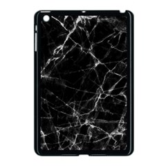 Black marble Stone pattern Apple iPad Mini Case (Black)