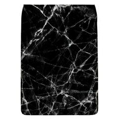 Black marble Stone pattern Flap Covers (L)