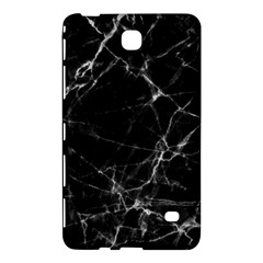 Black marble Stone pattern Samsung Galaxy Tab 4 (8 ) Hardshell Case