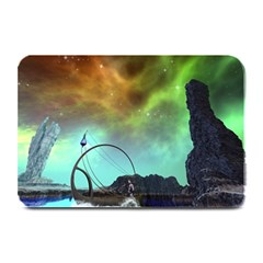 Fantasy Landscape With Lamp Boat And Awesome Sky Plate Mats