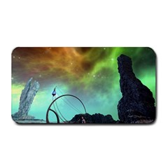Fantasy Landscape With Lamp Boat And Awesome Sky Medium Bar Mats