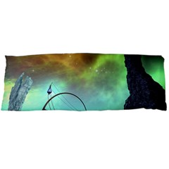 Fantasy Landscape With Lamp Boat And Awesome Sky Body Pillow Cases Dakimakura (Two Sides)