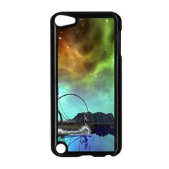 Fantasy Landscape With Lamp Boat And Awesome Sky Apple iPod Touch 5 Case (Black)