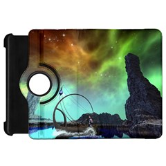 Fantasy Landscape With Lamp Boat And Awesome Sky Kindle Fire HD Flip 360 Case