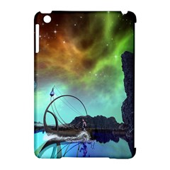 Fantasy Landscape With Lamp Boat And Awesome Sky Apple iPad Mini Hardshell Case (Compatible with Smart Cover)