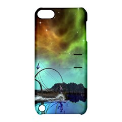 Fantasy Landscape With Lamp Boat And Awesome Sky Apple iPod Touch 5 Hardshell Case with Stand