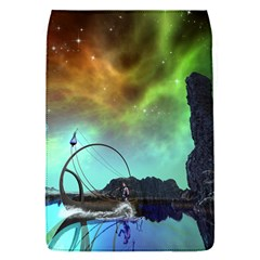 Fantasy Landscape With Lamp Boat And Awesome Sky Flap Covers (S)