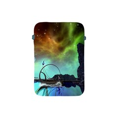 Fantasy Landscape With Lamp Boat And Awesome Sky Apple iPad Mini Protective Soft Cases