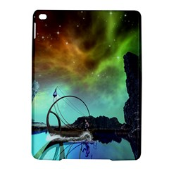 Fantasy Landscape With Lamp Boat And Awesome Sky Ipad Air 2 Hardshell Cases