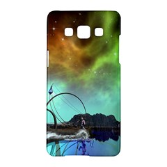 Fantasy Landscape With Lamp Boat And Awesome Sky Samsung Galaxy A5 Hardshell Case