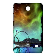 Fantasy Landscape With Lamp Boat And Awesome Sky Samsung Galaxy Tab 4 (7 ) Hardshell Case