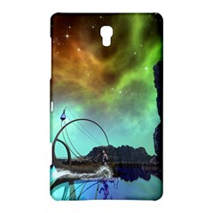 Fantasy Landscape With Lamp Boat And Awesome Sky Samsung Galaxy Tab S (8 4 ) Hardshell Case