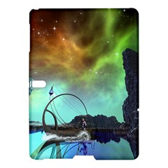 Fantasy Landscape With Lamp Boat And Awesome Sky Samsung Galaxy Tab S (10.5 ) Hardshell Case