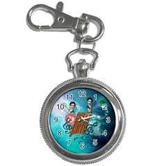Music, Pan Flute With Fairy Key Chain Watches