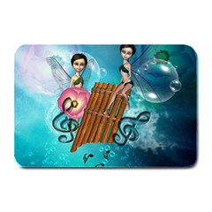 Music, Pan Flute With Fairy Plate Mats