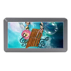 Music, Pan Flute With Fairy Memory Card Reader (Mini)