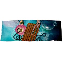 Music, Pan Flute With Fairy Body Pillow Cases Dakimakura (two Sides)