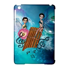 Music, Pan Flute With Fairy Apple iPad Mini Hardshell Case (Compatible with Smart Cover)