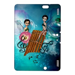 Music, Pan Flute With Fairy Kindle Fire HDX 8.9  Hardshell Case