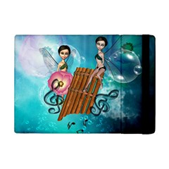 Music, Pan Flute With Fairy iPad Mini 2 Flip Cases