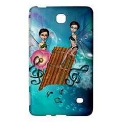 Music, Pan Flute With Fairy Samsung Galaxy Tab 4 (7 ) Hardshell Case