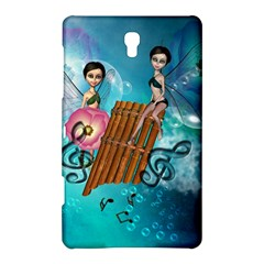 Music, Pan Flute With Fairy Samsung Galaxy Tab S (8.4 ) Hardshell Case
