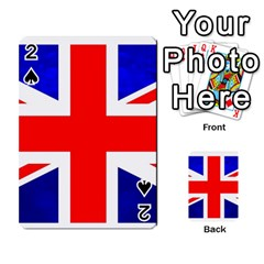 Brit1 Playing Cards 54 Designs