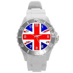 Brit1 Round Plastic Sport Watch (L)
