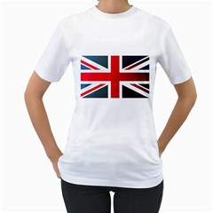 Brit2 Women s T-Shirt (White) (Two Sided)