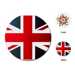 Brit2 Playing Cards (Round)
