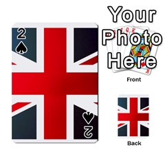 Brit2 Playing Cards 54 Designs