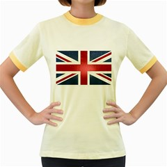 Brit3 Women s Fitted Ringer T-Shirts