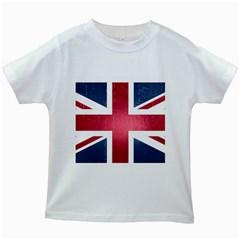 Brit3 Kids White T Shirts