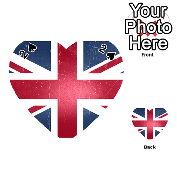 Brit3 Playing Cards 54 (Heart)