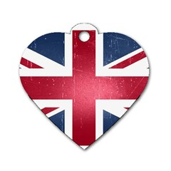 Brit3 Dog Tag Heart (Two Sides)