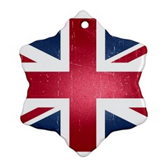 Brit3 Snowflake Ornament (2-Side)